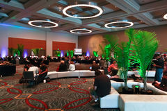 ESRI User Conference 2010 - GIS Lounge Stock Photo