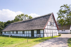 Esrum Kloster Cottage house in Denmark Royalty Free Stock Photo