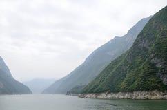 Essência cênico de China o Rio Yangtzé Three Gorges Fotografia de Stock Royalty Free