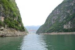 Essência cênico de China o Rio Yangtzé Three Gorges Fotografia de Stock