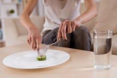 A essência da má nutrição Fotografia de Stock Royalty Free