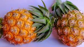 Essai de bonbon à taille d'ananas de l'Asie mini Photographie stock