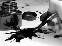 Essai de dessiner Photos libres de droits