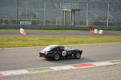Essai 2016 de hard-top de Shelby Cobra 289 à Monza Images libres de droits