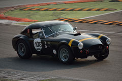 Essai 2016 de hard-top de Shelby Cobra 289 à Monza Images stock