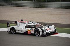 Essai de l'hybride 2015 de Porsche 919 à Monza Images stock