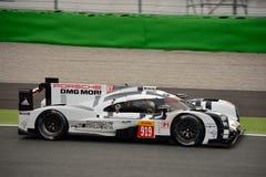 Essai de l'hybride 2015 de Porsche 919 à Monza Image stock