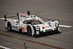 Essai de l'hybride 2015 de Porsche 919 à Monza Photo stock