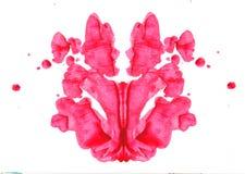 Essai de Rorschach Photographie stock