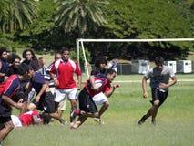 Essai de rugby Image stock