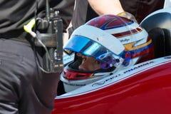 Essai ouvert de voiture de course de roue de voiture d'Indy Photographie stock