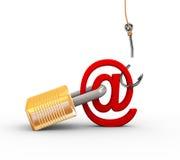 essai raté 3d de phishing Photos libres de droits