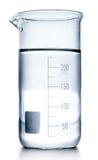 Essai-tubes dans des couleurs grises d'isolement. Photo stock