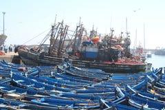 Essaouira港口,摩洛哥 免版税库存图片