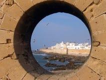 Essaouira, взгляд от форта Стоковое Фото