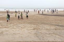 essaouira пляжа стоковая фотография