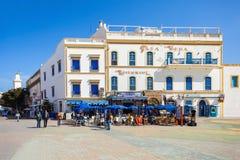 Essaouira central square Royalty Free Stock Photos