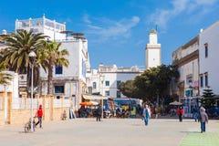 Essaouira central square Stock Image