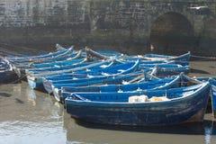 Essaouira city harbour Stock Images