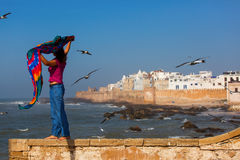 Essaouira is a city and port on the Atlantic coast in Morocco, N Royalty Free Stock Image