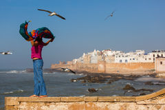 Essaouira is a city and port on the Atlantic coast in Morocco, N Stock Image