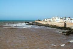 Essaouira, ciudad vieja en Marruecos Foto de archivo