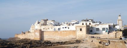 Essaouira fortified city Royalty Free Stock Photo
