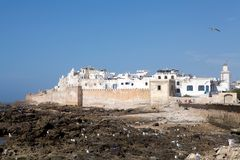 Essaouira fortified city Royalty Free Stock Photos