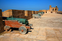 Essaouira Fortress Royalty Free Stock Photo