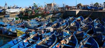 Essaouira-Hafen Lizenzfreie Stockfotos