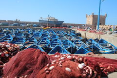 Essaouira Harbor, Morocco Royalty Free Stock Image