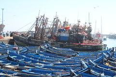 Essaouira Harbor, Morocco Royalty Free Stock Images
