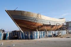 Essaouira harbour docks Stock Photos
