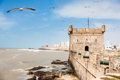 Essaouira, Marocco: The Portuguese Castle. Royalty Free Stock Photos