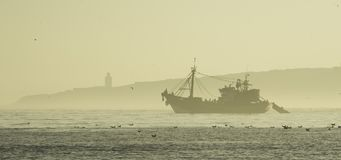 Essaouira Marocko, Afrika Arkivfoton