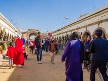 Essaouira, Marrocos - 2 de novembro de 2018: Nas ruas de Medina fotos de stock