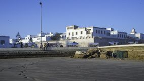 Essaouira, Morocco, Africa. Coastline in Essaouira, Morocco, Africa Stock Photo