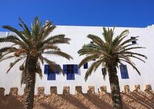 Essaouira Morocco, Medina wall Stock Photo
