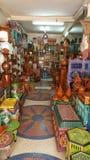 Essaouira morrocanartgalleri Royaltyfria Foton