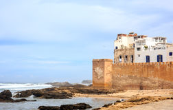 Essaouira old harbor, Morocco Stock Image