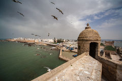 Essaouira, old Portuguese city in Morocco Stock Image