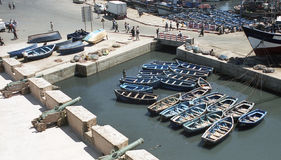 Essaouira port Royalty Free Stock Photo