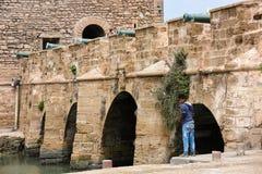 Essaouira port Arkivbilder