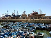 Essaouira, porto do Oceano Atlântico em Marrocos Fotografia de Stock Royalty Free