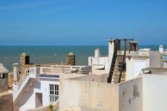 Essaouira roofs Stock Image
