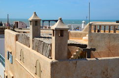 Essaouira roofs Royalty Free Stock Image