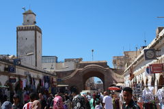 Essaouira Street Life, Morocco Royalty Free Stock Photos