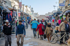 Essaouira street Stock Photo