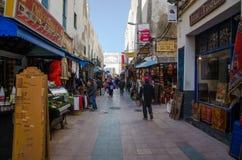 Essaouira street Royalty Free Stock Photography