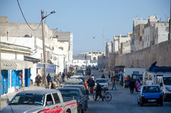 Essaouira street Royalty Free Stock Images